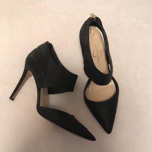 Jessica Simpson size 9 black heels